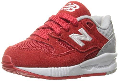 New Balance 530, Entrenadores Unisex Niños, Rojo (Red/Grey), 37.5 EU