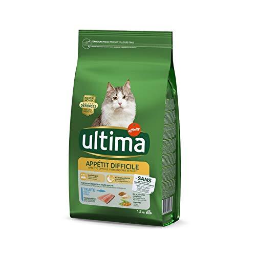 Animalerie Ultima - Chat Appétit Difficile 1.5Kg - Lot De 3 - Vendu par Lot