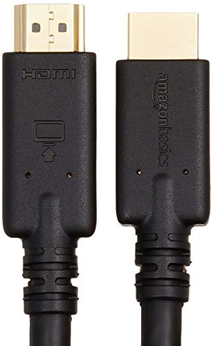 AmazonBasic High-Speed HDMI Cable with RedMere-10.7 m