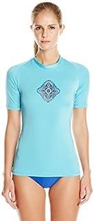 قميص Kanu Surf نسائي من قماش UPF 50+ قصير الأكمام نشط Rashguard وتمارين رياضية II