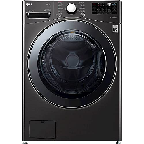 LG WM3998HBA 4.5 cu.ft. Front Load Washer & Dryer...