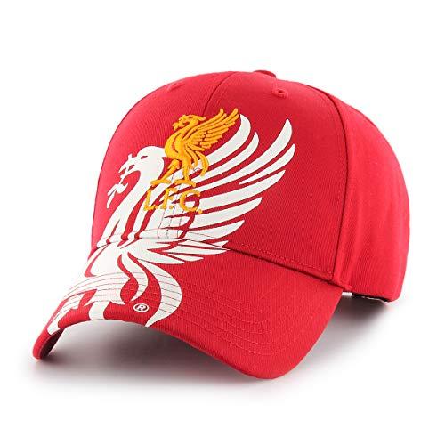 Liverpool FC Obsidian Wappen Kappe Rot