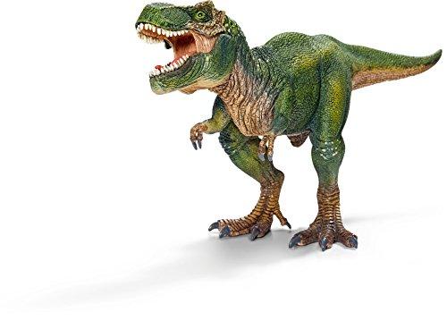 Schleich Réplica de Figura de Dinosaurio Tiranosaurio, Color Verde con Beige