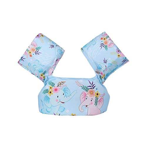 WZPG Non-Inflatable Baby Swimming Float, Ring Arm Sleeve Swim Floating, Armbands Child Floatable, Suitable for Children's Swimming Pool Safety Equipment Between 2-6 Years Old,K