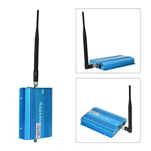 ASHATA GSM Repeater Signalverstärker,Handy Signalverstärker Repeater+Außenantenne+Montagezubehör Set,Verbesserte Handy Signal Verstärker Handynetz Verstärkung EU Stecker(Blau)