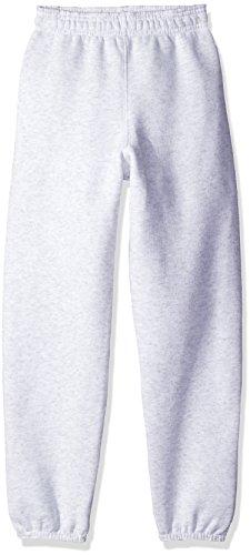 Soffe Boys' Big Heavyweight Sweatpants, Ash, Large