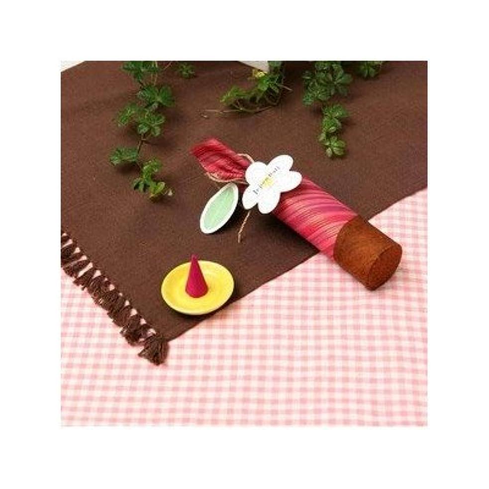 お香/インセンス 〔桜の香り コーンタイプ10個入り〕 バリ島製 「Jupen Bari ジュプンバリ」[通販用梱包品]