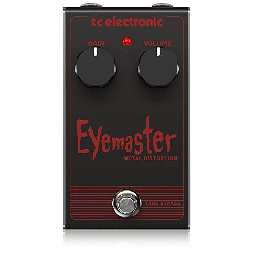 TC Electronic Electric Guitar Single Effect (EYEMASTER METAL DISTORTIO)