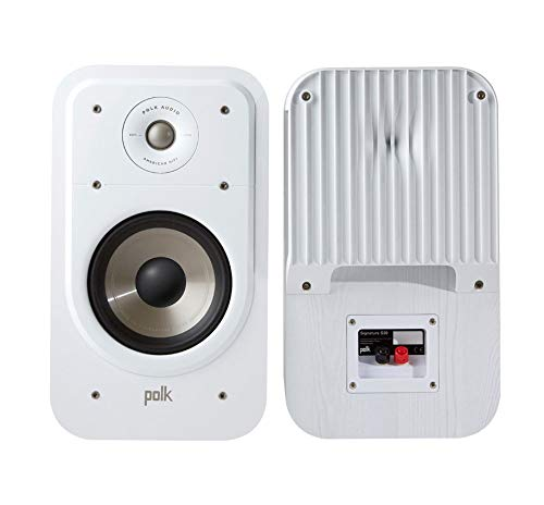 Polk Audio s20e Signature Polk Audio Signature S20 S – Altavoces de estantería, Color Blanco Color Blanco