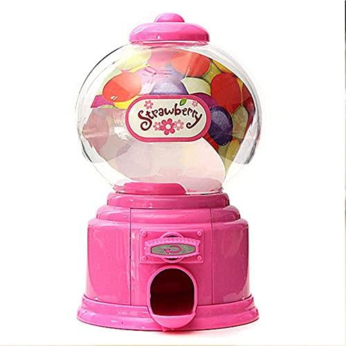 WULOVEMI Hucha de regalo Hucha Hucha Hucha Hucha Caja de dinero Juguete Torcido Máquina de dulces Manual Botella de Dulces Caja de Dulces Pequeños Contenedor de Almacenamiento de Dulces (Color: Rosa)