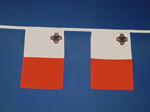 Malte, banderoles de 9 m (environ 30 pieds) parfait pour les festivals et événements sportifs