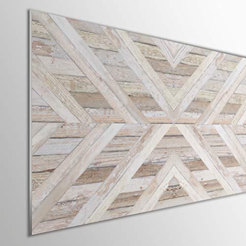MEGADECOR DECORATE YOUR HOME Cabecero Cama PVC 5mm Decorativo Económico. Modelo - Arrowtown (135x60cm, Modelo 1)