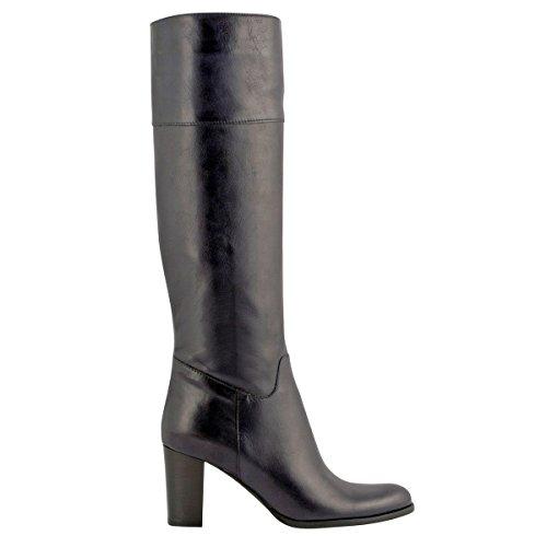 Exclusif Paris, Damen Stiefel & Stiefeletten, Blau - Marineblau - Größe: P39