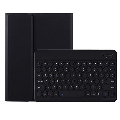 Liuliuliu Detachable Round Key Bluetooth Keyboard Protective Case with Pen Slot For iPad Pro 11 inch (2020/2018) Heydayling (Color : Black)