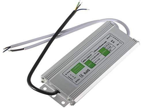 80W impermeabilizan la fuente de alimentación del transformador del conductor de IP67 LED AC110V-260V a DC12V ILFYJRHD (Size : 153mmx71mmx44mm)