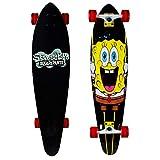Kryptonics Spongebob 36' Longboard Complete Skateboard - Streatch, Yellow, Model Number: 169950