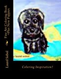 Fine Art Coloring Book ~Plus New Puppies (Fine Art and...
