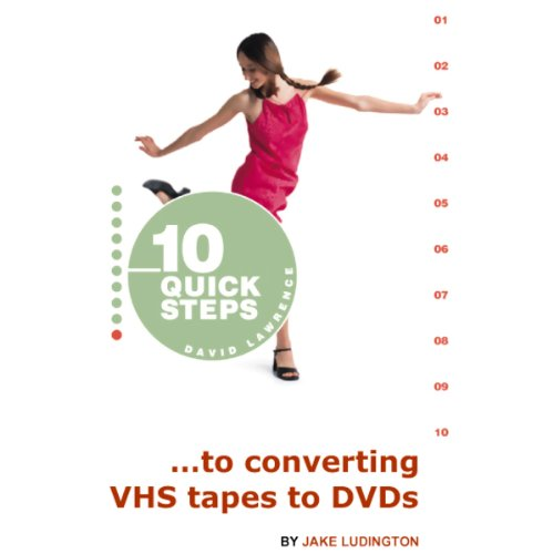 10 Quick Steps to Converting VHS Tapes to DVDs cover art
