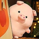Peluche Juguetes De Peluche De Cerdo Rosa Adorable Almohada Suave Kawai Animal De Peluche Grande Casa De Muñecas De Peluche Decoración Almohada Juguetes De Navidad para Niños