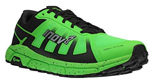 Inov-8 Herren Terraultra G-Grip 270 Schuhe, Green-Black, UK 11