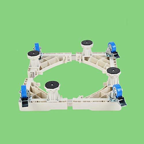 CHGDFQ Lavadora Base a Prueba de Humedad Base Antideslizante a Prueba de Golpes Almohadilla Baja Soporte para refrigerador Bandeja móvil (Size : A)