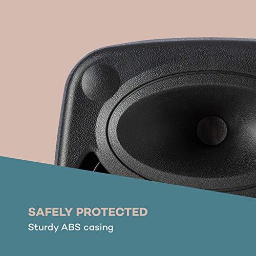 auna Streetstar - Mobile PA-Anlage Musikanlage, Bluetooth, USB-Port, SD, MP3, AUX-In, Akku, LED-Display, (8