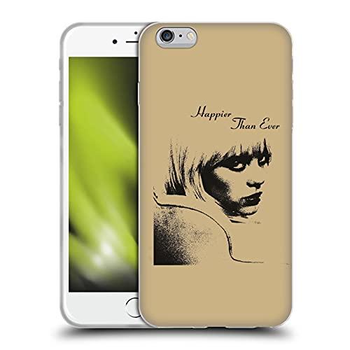 Head Case Designs Licenza Ufficiale Billie Eilish Immagine dell'album Happier Than Ever Cover in Morbido Gel Compatibile con Apple iPhone 6 Plus/iPhone 6s Plus