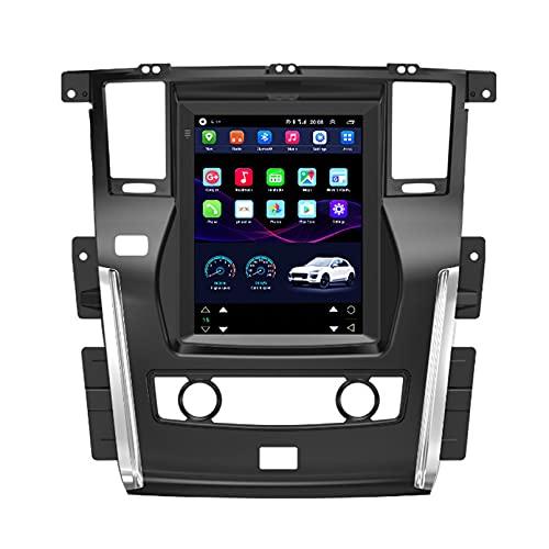 TIANDAO Android 10.0 Radio Satelital para Automóvil Reproductor Multimedia Autoradio 2.5D Navegador GPS para Nissan Patrol 2017 Soporte WiFi Bluetooth/Control del Volante(Color:WiFi 1G+16G)