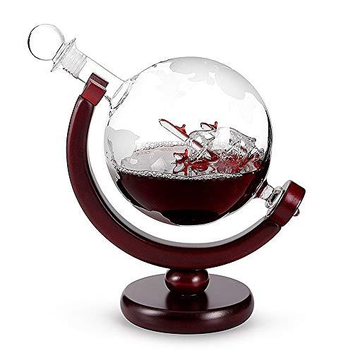 Listado de Licoreras de vidrio, tabla con los diez mejores. 8