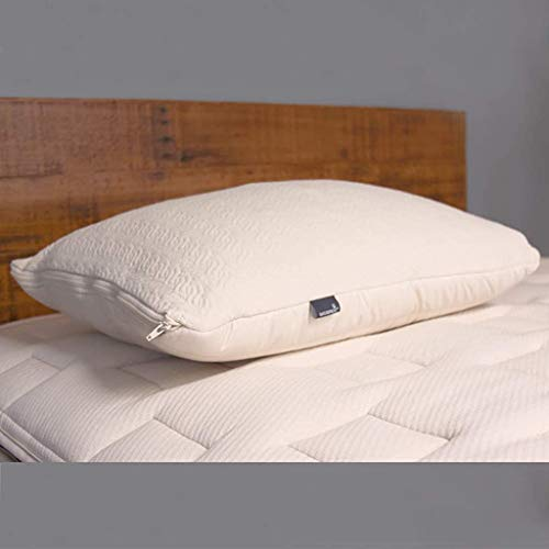 Naturepedic Organic 2-in-1 Latex Pillow - Washable - Adjustable Fill (King)