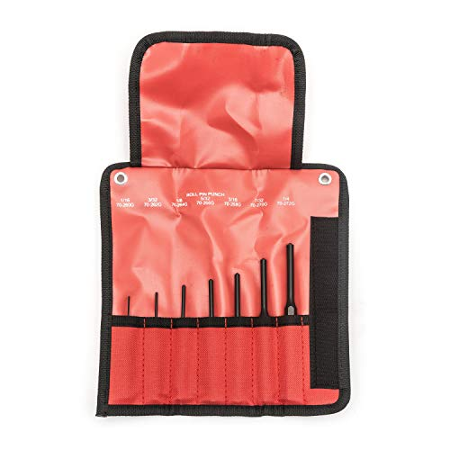GEARWRENCH 7 Pc. Roll Pin Punch Set - 70-557G