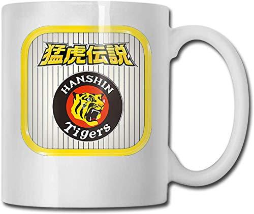 阪神タイガース5 マグカップ コーヒーカップ コップ プリント 個性 使いやすい 容量0.33Lタイプ おしゃれ 耐熱 繰り返し使用可能 仕事用 贈り物 ギフト食器 グッズ 通販
