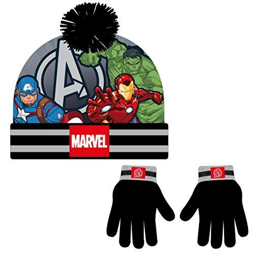 Cerdá - Conjunto Gorro y Guantes de The Avengers - Licencia Oficial...