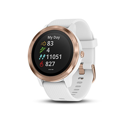 vivoactive 3, WW, White/Rose Gold Silicone (Reacondicionado)