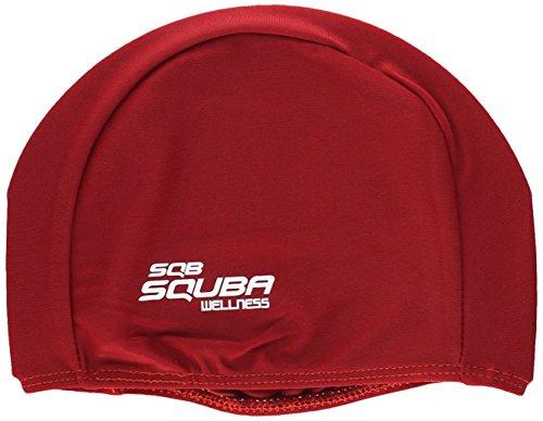 Squaba 0020873 Gorro de Natación, Rojo, S