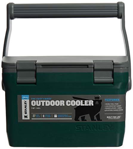 Stanley Unisex - Adventure Cooler 6,6L Nevera portátil, 15,1 litros, Verde