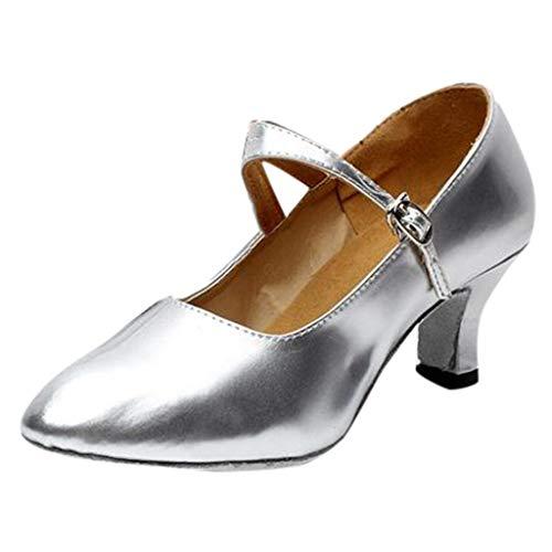 Tefamore Zapatos De Fiesta De Baile De SalóN De Baile De Tango...