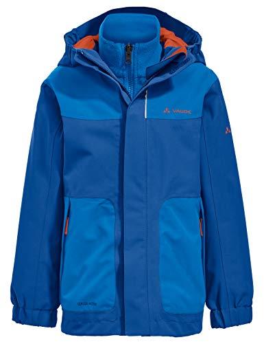 VAUDE Kinder Kids Campfire 3in1 Jacket IV Doppeljacke, Signal Blue, 158/164