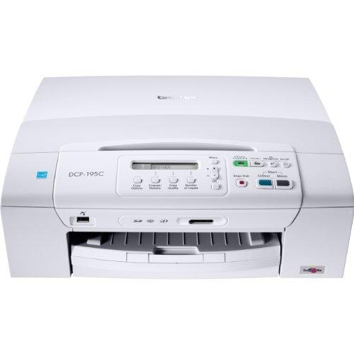 Brother DCP-195C Tinten-Multifunktionsgerät (Drucker, Kopierer, Scanner, USB 2.0)