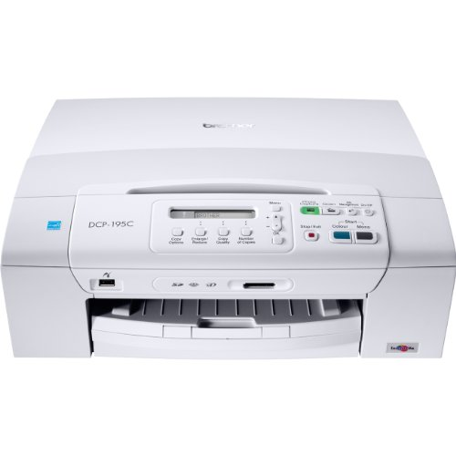 Brother DCP-195C Tinten-Multifunktionsgerät (Drucker, Kopierer, Scanner, USB 2.0)