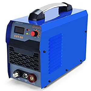 SUNGOLDPOWER 50A Air Plasma Cutter Inverter DC Digital Display IGBT Portable CUT50 Welding Portable Machine Cutting 50Amp Dual Voltage 110V and 220V by SUNGOLDPOWER