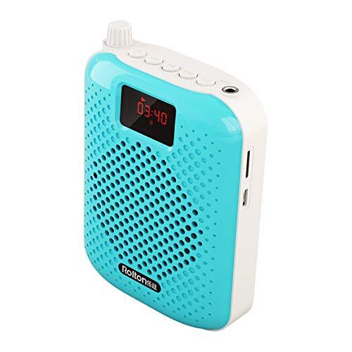K500 Micrófono Altavoz Bluetooth Portátil Emparejamiento Automático Amplificador de Voz Megáfono Altavoz Carga USB para Enseñanza
