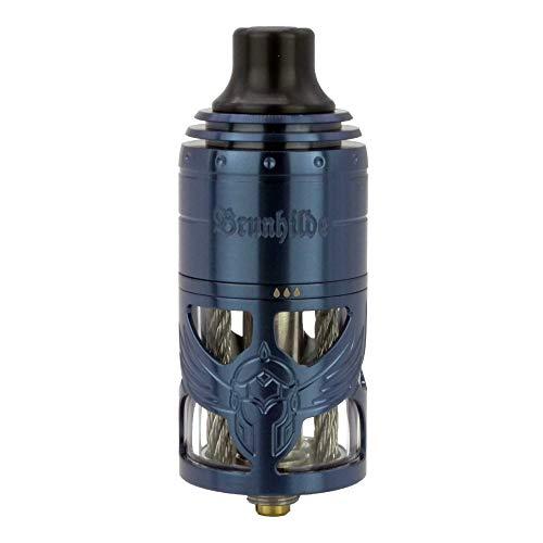 VapeFly Brunhilde MTL RTA Clearomizer 5 ml, Durchmesser 23 mm, Verdampfer für e-Zigarette, blau
