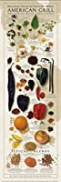Regional Spices and Culinary Herbs American Grill Ziegler & Keating Kitchen Cook Print Poster 12x36 【Creative Arts】 [並行輸入品]