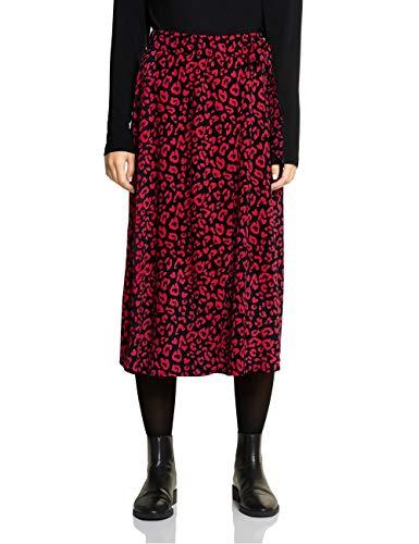 Street One Damen 360520 Rock, Mehrfarbig (Love red 22046), (Herstellergröße:36)