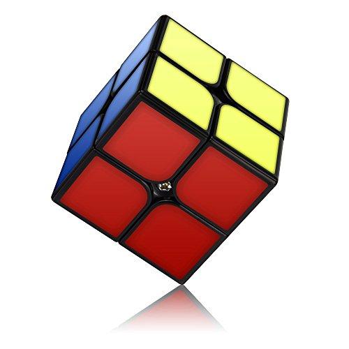 Vdealen Cyclone Boys 2x2 Cubo Mágico, 2x2 Speed Cube 50mm - Torneado Fácil & Juego Suave - Rompecabezas Cubo de Velocidad para Principiante y Pro