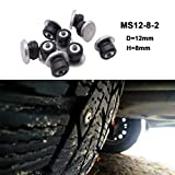 100PCS 8mm Spikes For Tires/Winter Tire Spikes/Car Tire Studs/Snow Chians Ice Stud Carbide Studs For Auto...