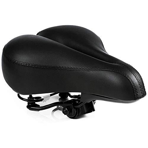 WZ YDTH Universeel fietszadel, extra breed, schokabsorberend, ademend, goede afwerking, slijtvast, hyperelastisch, ademend
