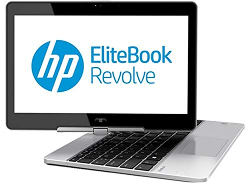 HP EliteBook Revolve 810 G2 Tablet 11.6' Touchscreen Business Laptop Computer, Intel Core i5-4200U Up to 2.6GHz, 8GB RAM, 256GB SSD, 802.11ac WiFi, USB 3.0, Windows 10 Professional (Renewed)