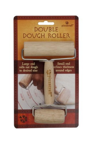 Pizzacraft New Double Dough Roller